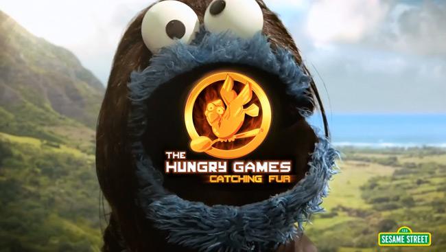 Hunger-Games-parody-starring-Cookie-Monster-Sesame-Street