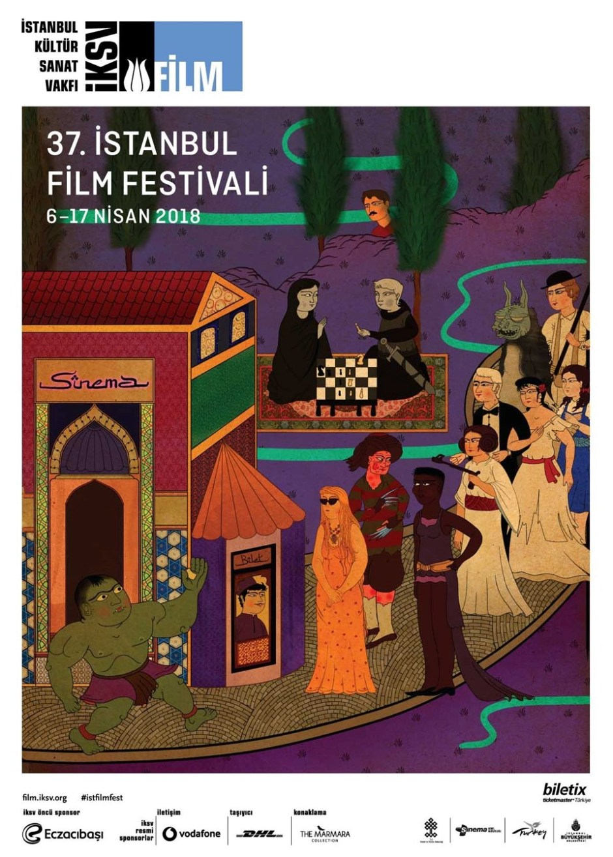 37. istanbul film festivali afişi
