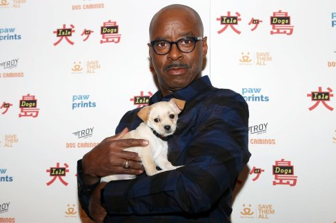 """- New York, NY - 3/21/18 - Paw Prints Presents a Special Screening of """"ISLE OF DOGS"""". -Pictured: Courtney B. Vance -Photo by: Kristina Bumphrey/StarPix -Location: IFC Center"""