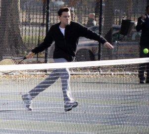 Belki teknik yanlış ama tenis uzun bir maraton, gözlerde bu inanç oldukça o top filede kalmaz.